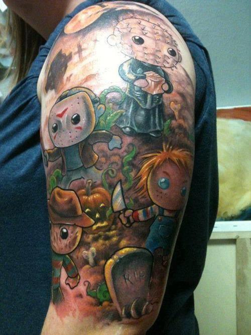 cartoon tattoos photo - 31