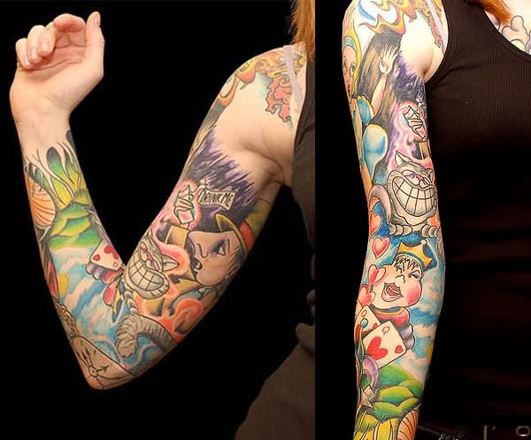 cartoon tattoos photo - 34