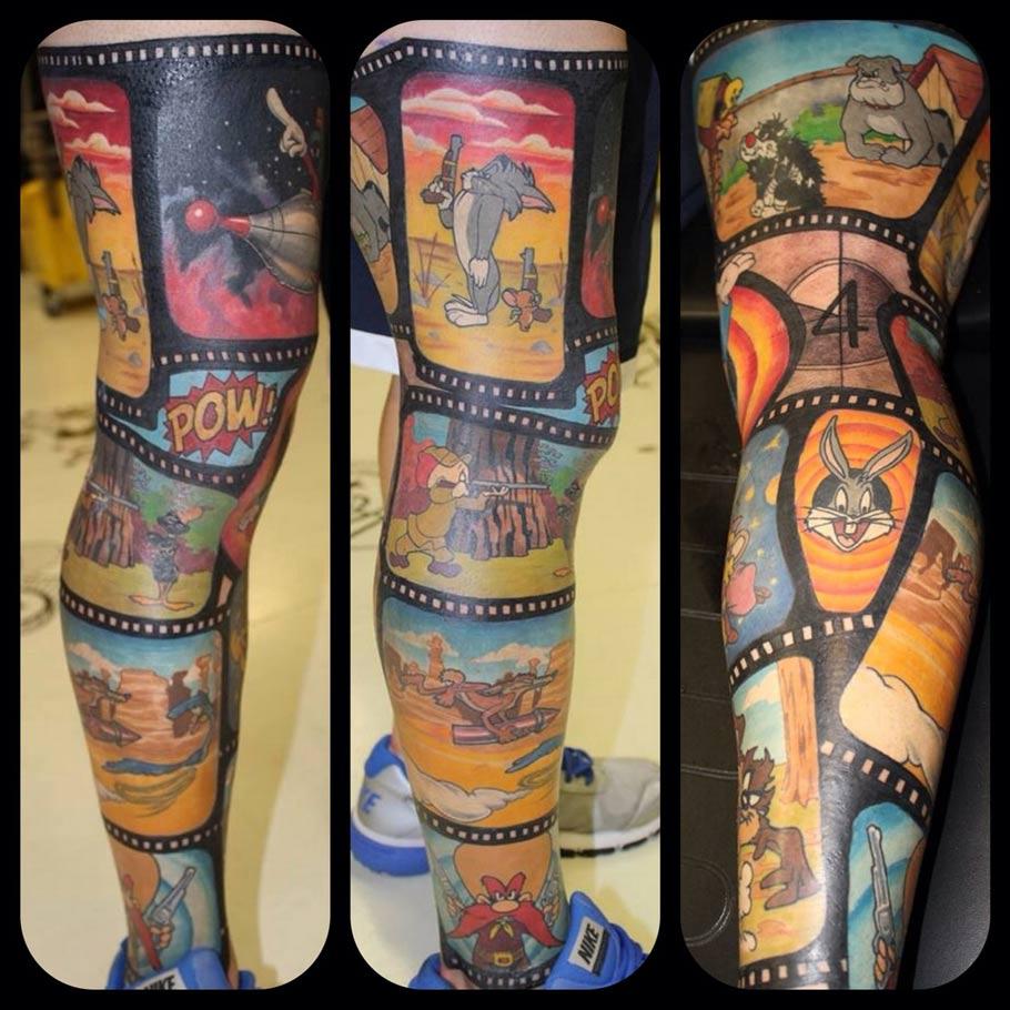 cartoon tattoos photo - 35
