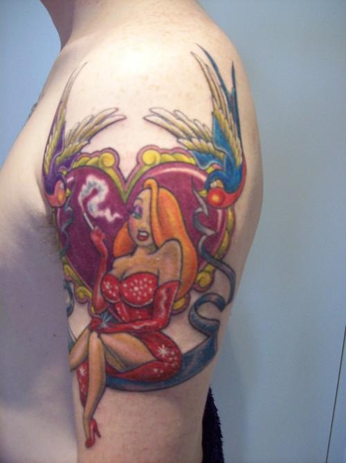 cartoon tattoos photo - 4