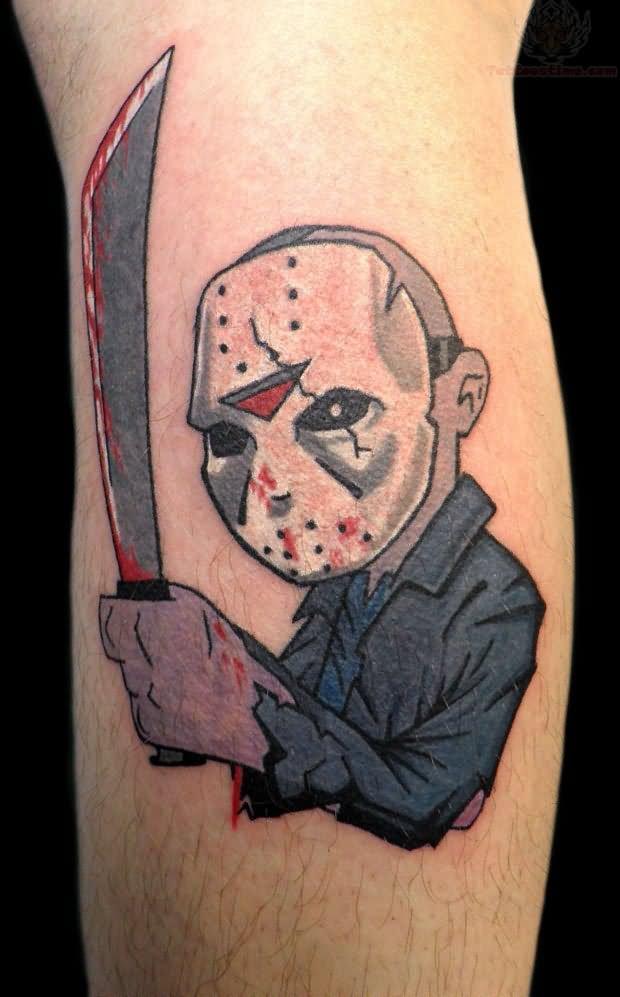 cartoon tattoos photo - 5