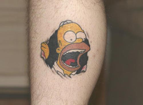 cartoon tattoos photo - 9