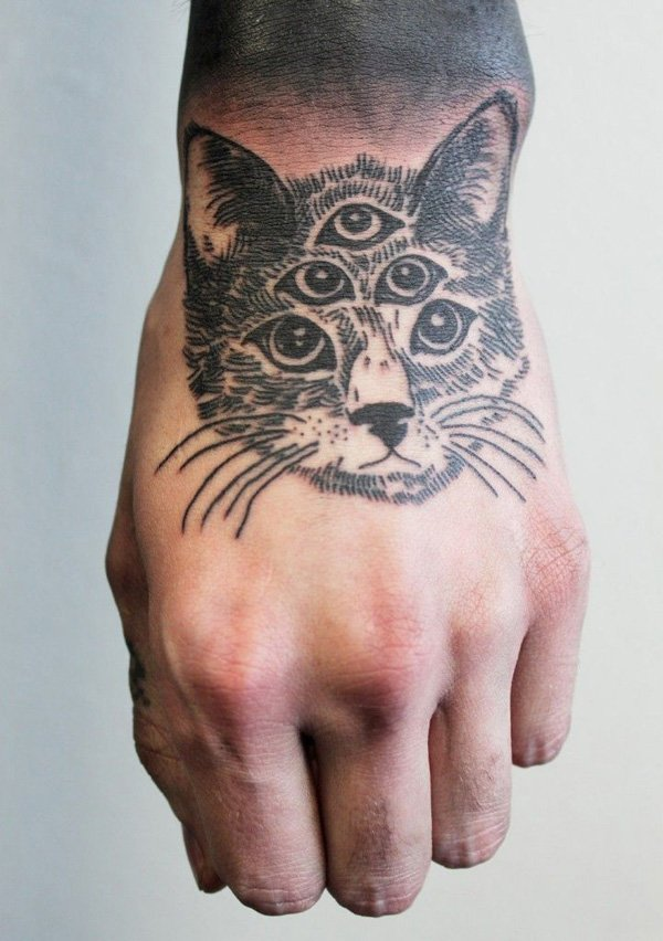 cat tattoos photo - 12