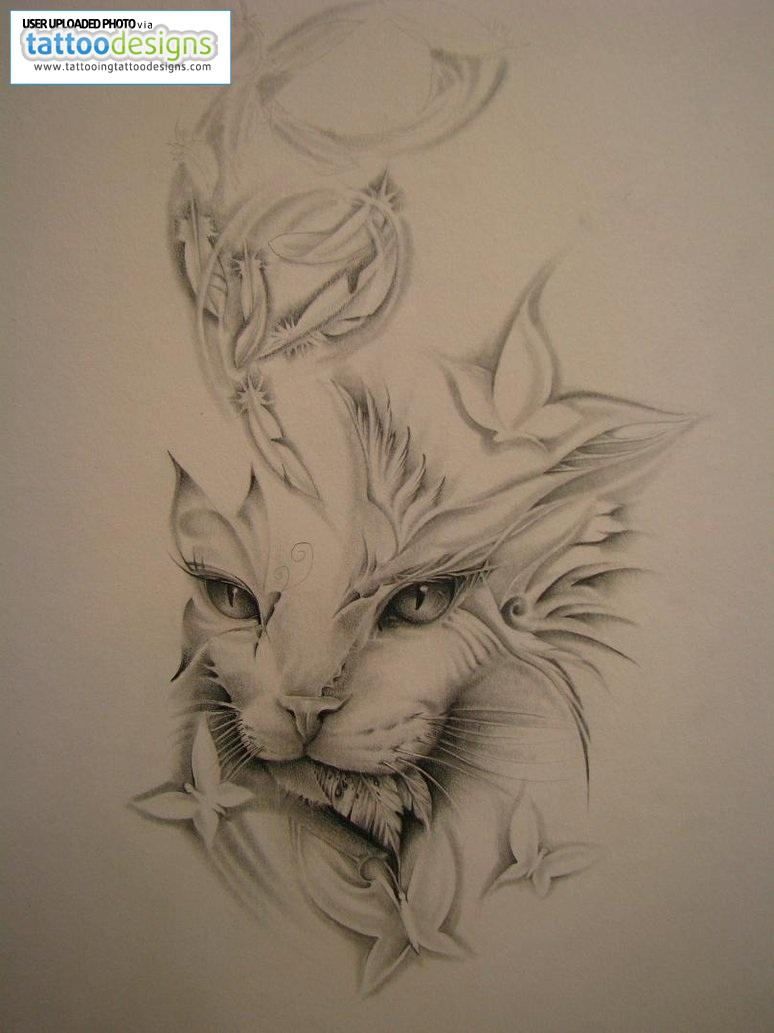 cat tattoos photo - 15