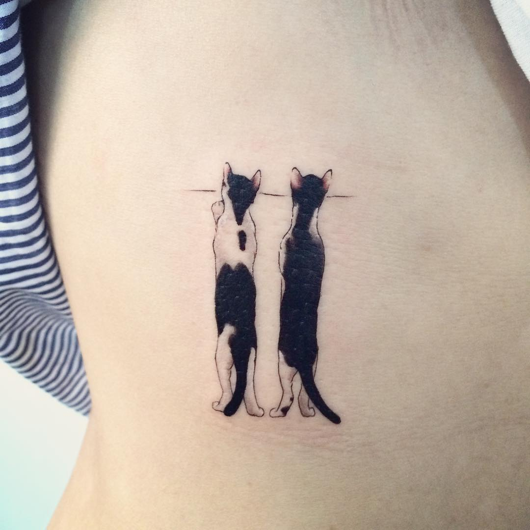 cat tattoos photo - 28