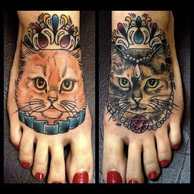 cat tattoos photo - 31