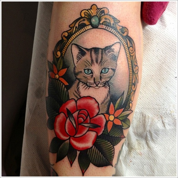 cat tattoos photo - 35