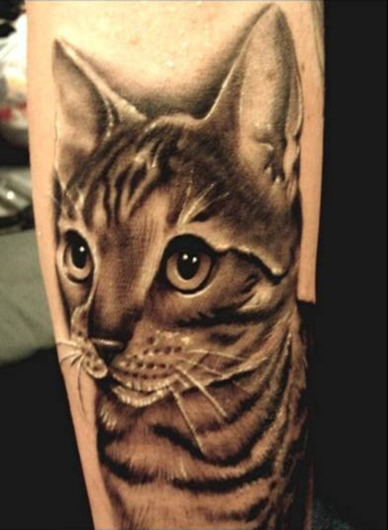 cat tattoos photo - 4