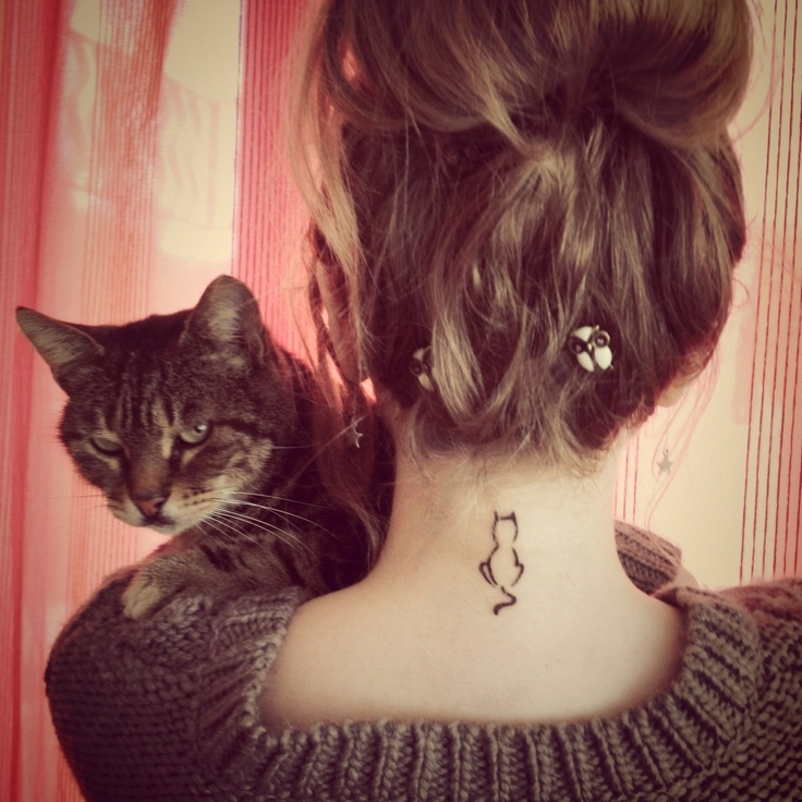 cat tattoos photo - 8