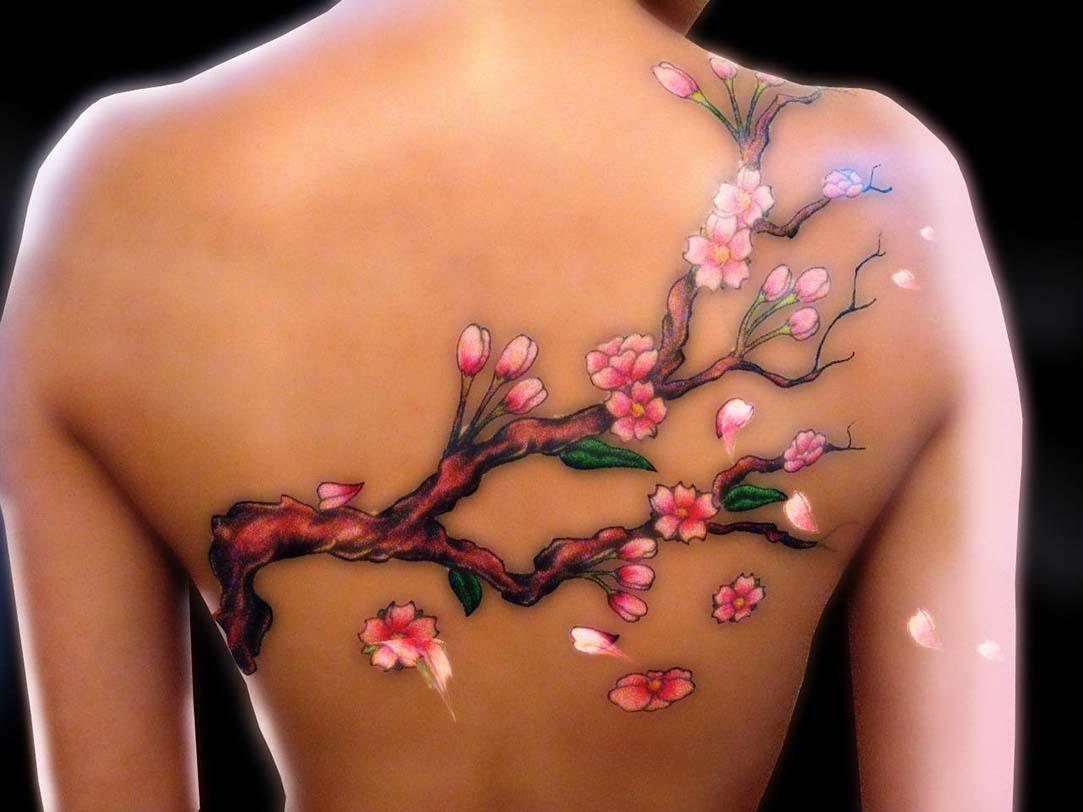 cherry blossom tattoos photo - 11