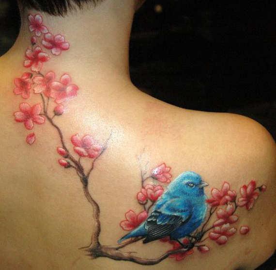 cherry blossom tattoos photo - 12