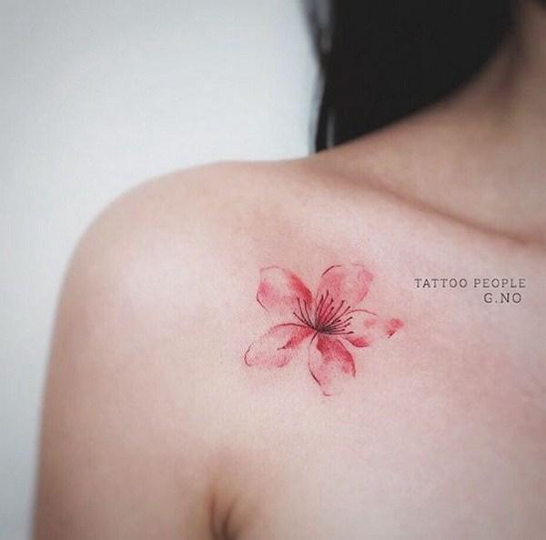 cherry blossom tattoos photo - 26