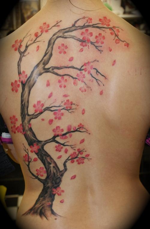 cherry blossom tattoos photo - 3