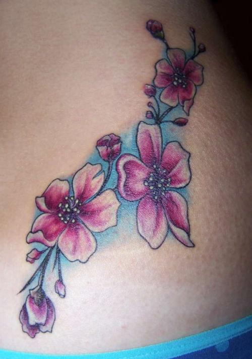 cherry blossom tattoos photo - 31