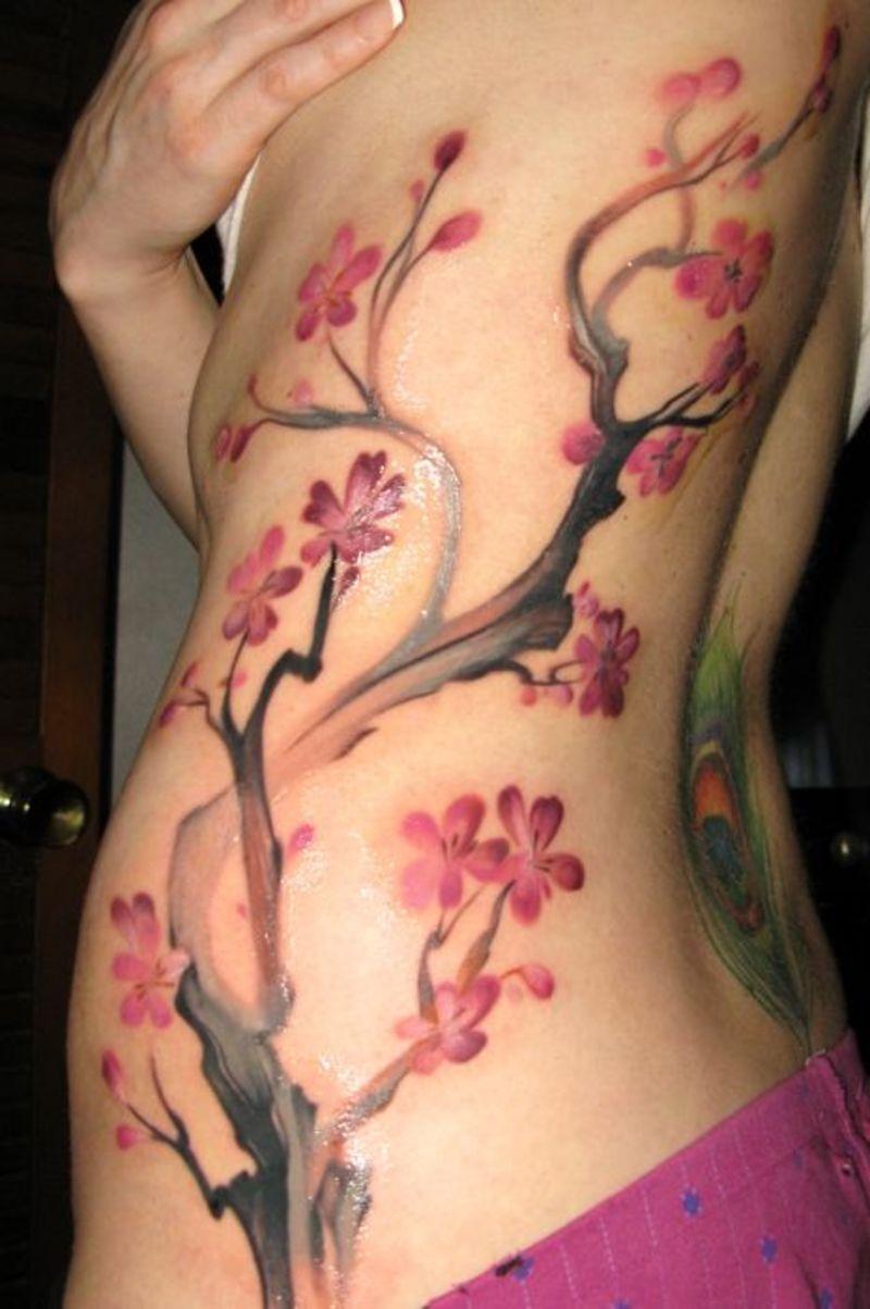 cherry blossom tattoos photo - 5
