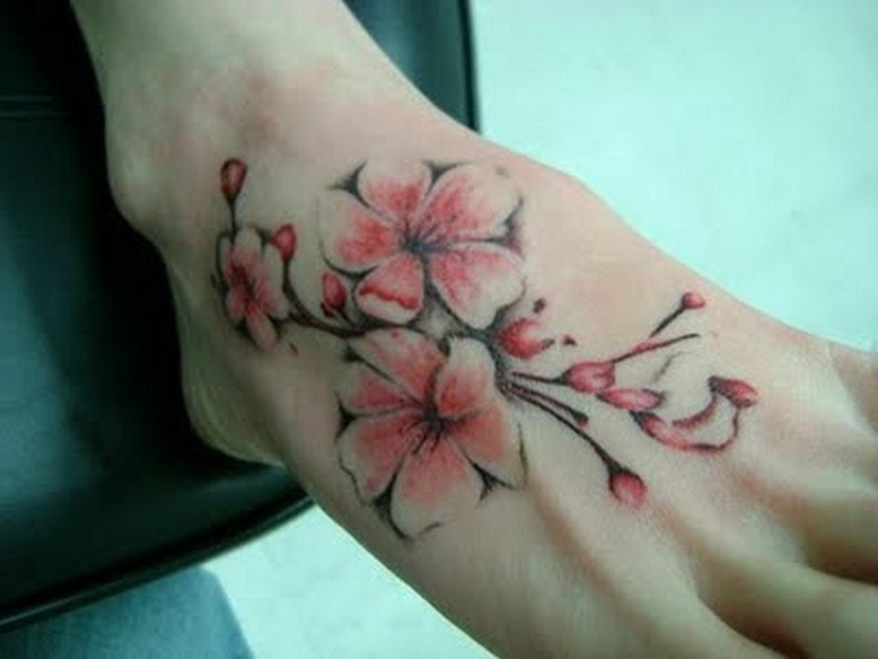 cherry blossom tattoos photo - 7