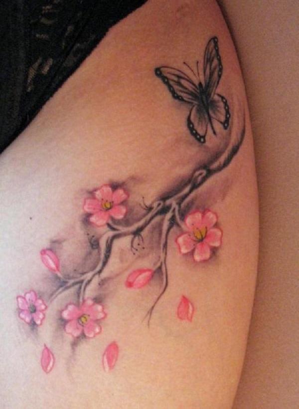 cherry blossom tattoos photo - 9