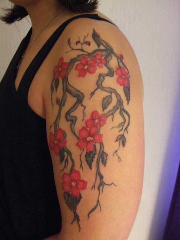 cherry tattoos photo - 20