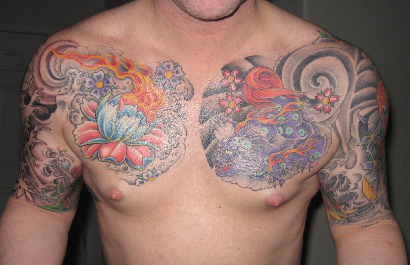 chest tattoos photo - 1