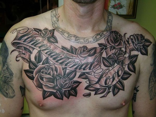 chest tattoos photo - 10
