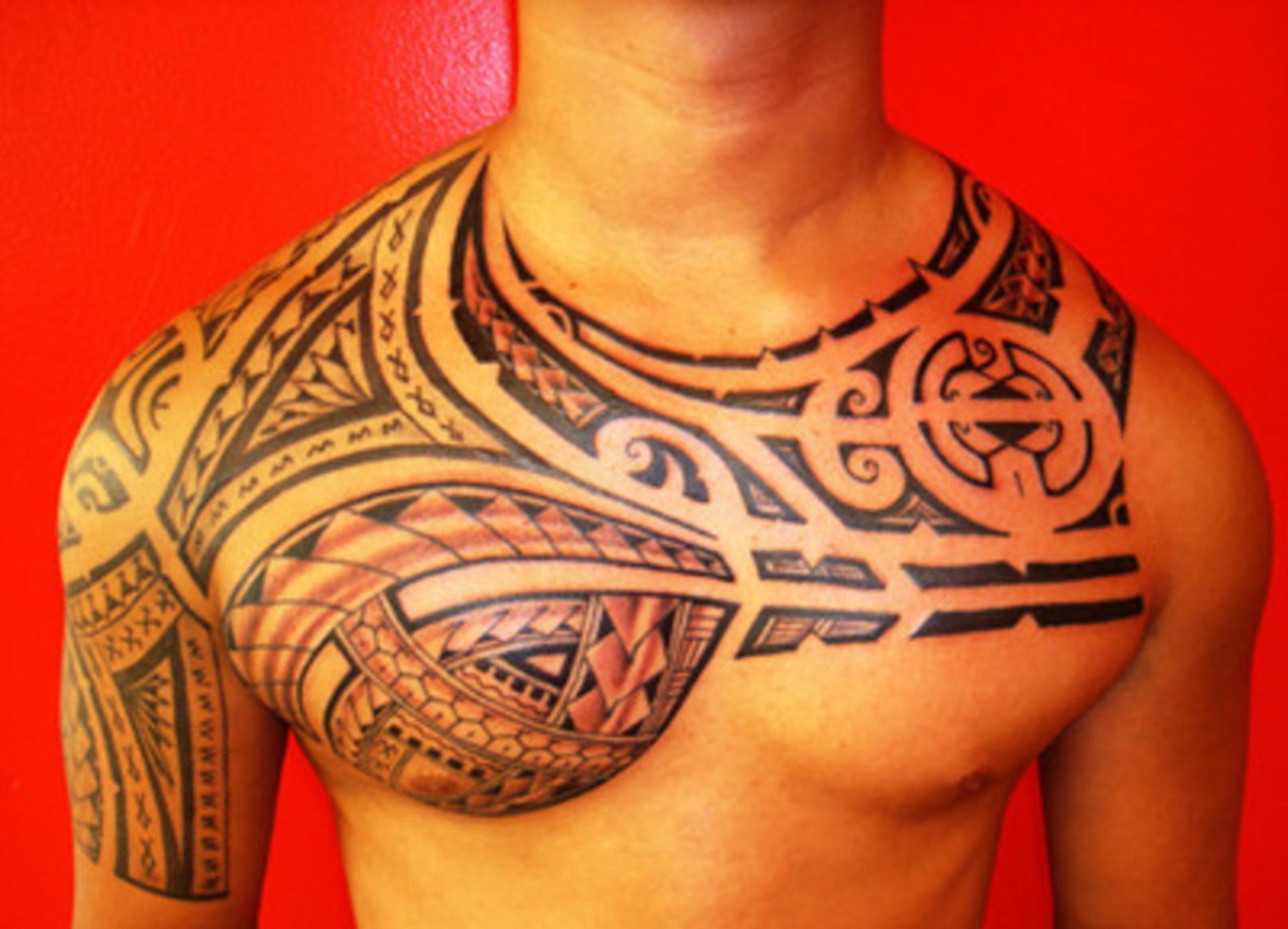 chest tattoos photo - 17