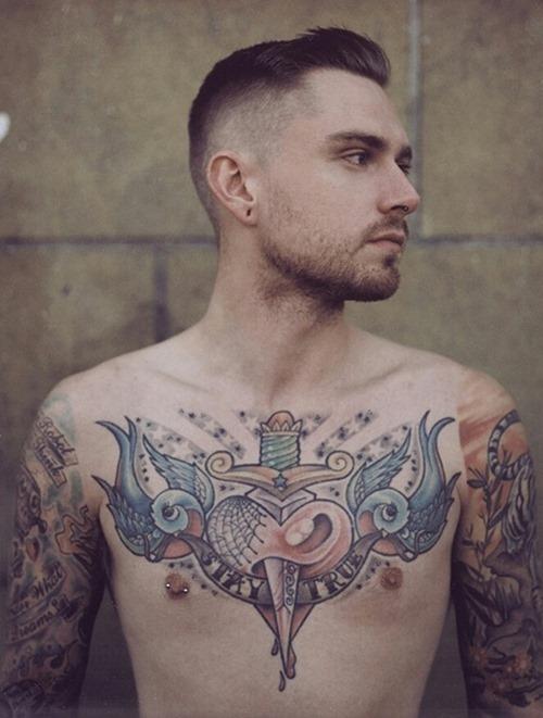 chest tattoos photo - 19