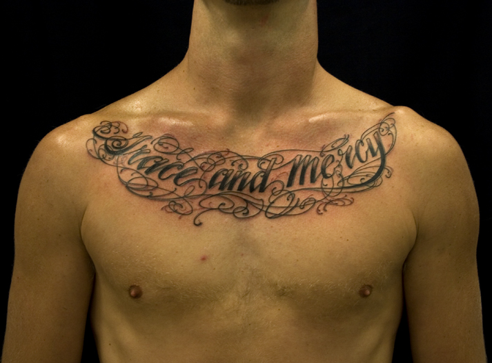 chest tattoos photo - 20