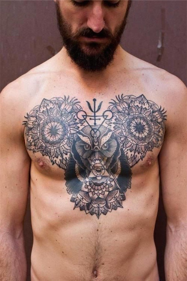chest tattoos photo - 22