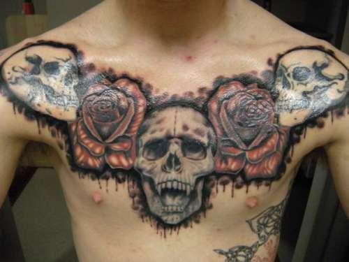 chest tattoos photo - 24