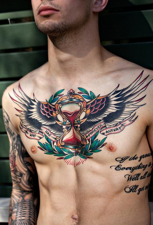 chest tattoos photo - 26