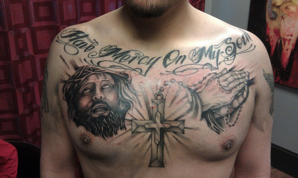 chest tattoos photo - 3