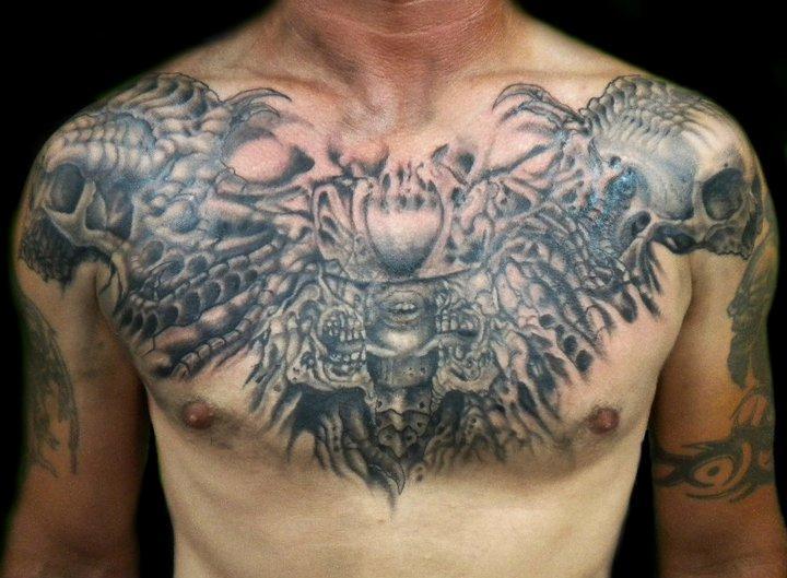 chest tattoos photo - 4