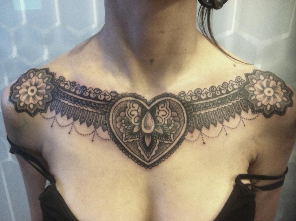 chest tattoos photo - 6
