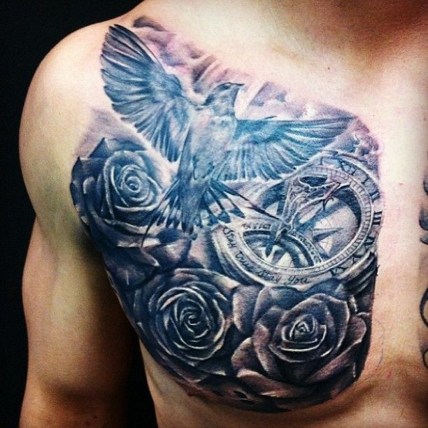 chest tattoos photo - 7
