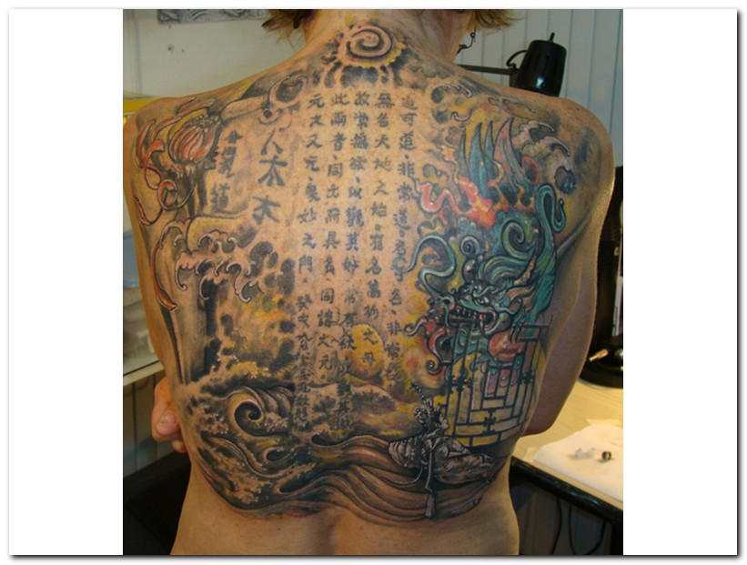 chinese tattoos photo - 24