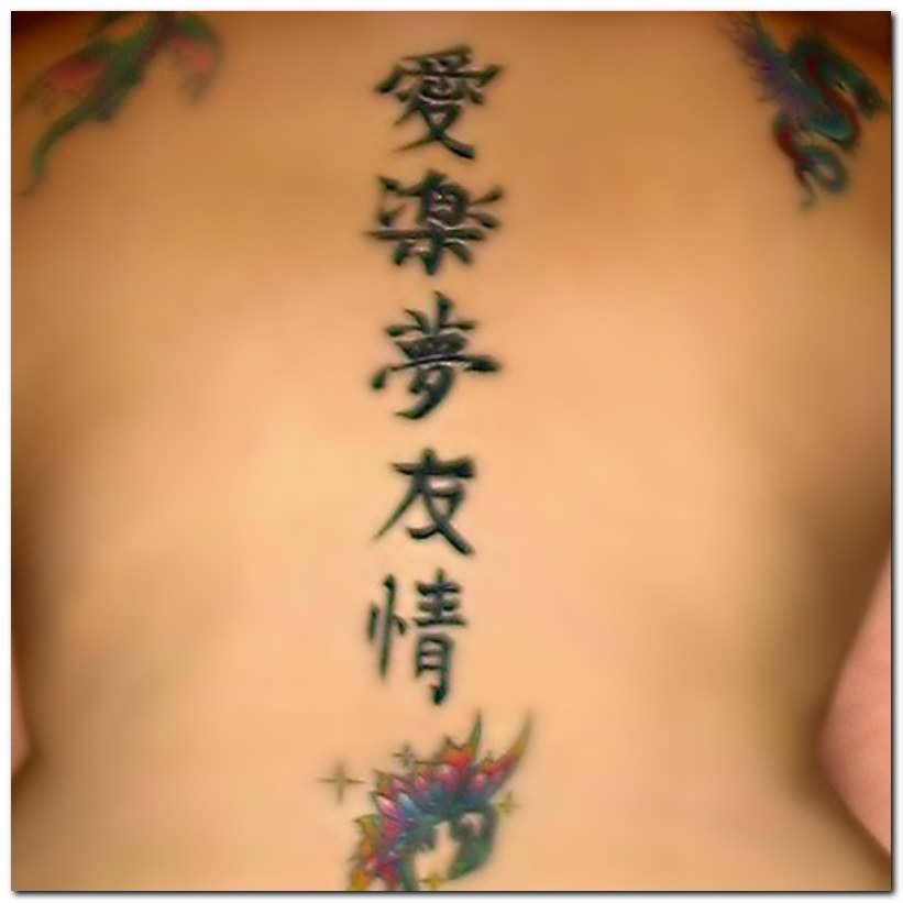 chinese tattoos photo - 3