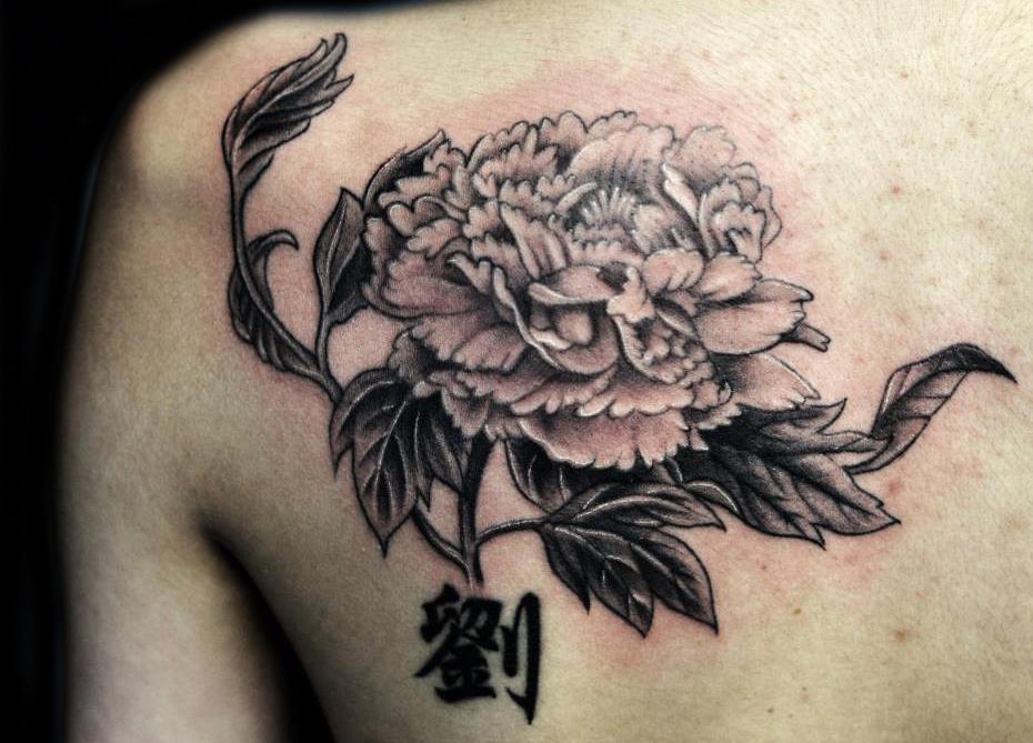 chrysanthemum tattoos photo - 10