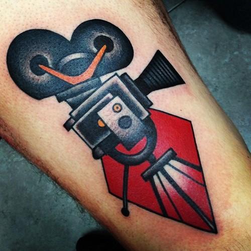 cinema tattoos photo - 1