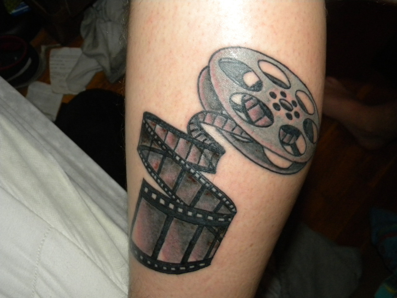 cinema tattoos photo - 17