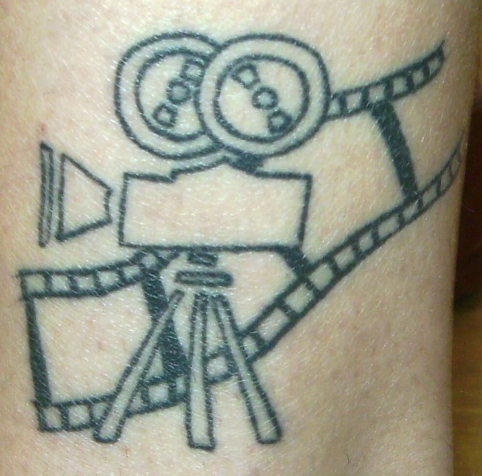 cinema tattoos photo - 18