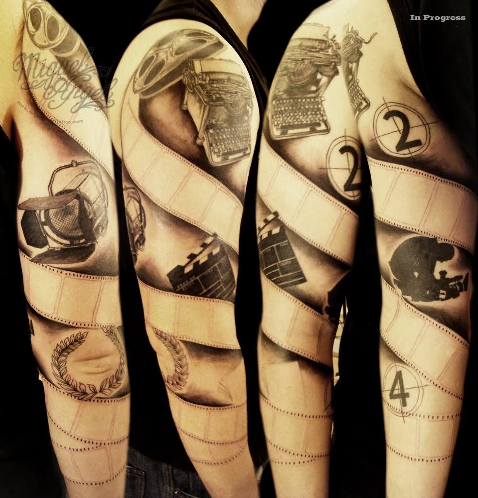 cinema tattoos photo - 29