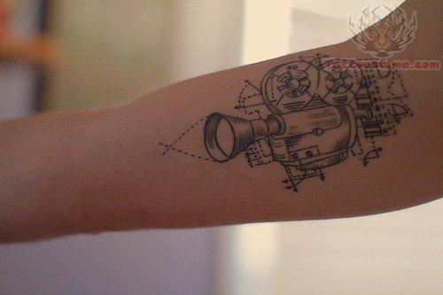 cinema tattoos photo - 3
