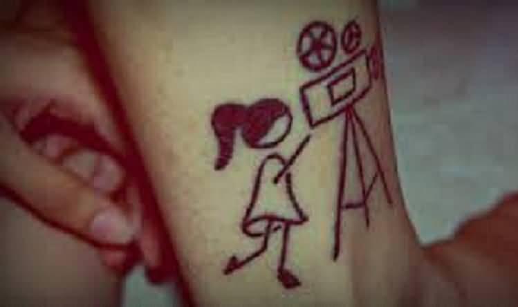 cinema tattoos photo - 7