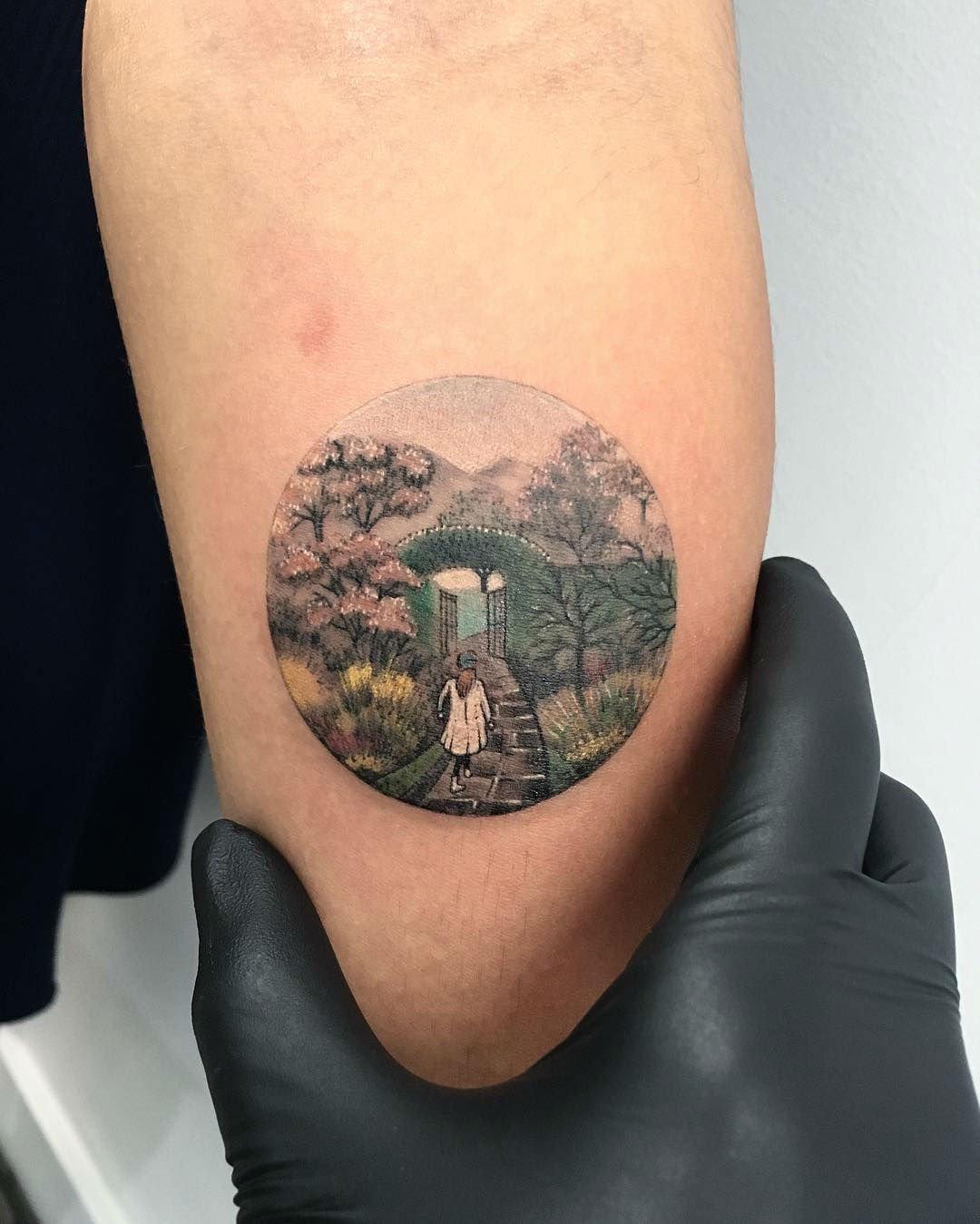 circle tattoos photo - 10