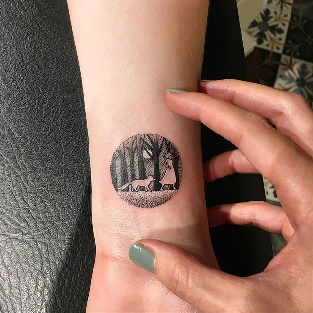 circle tattoos photo - 15