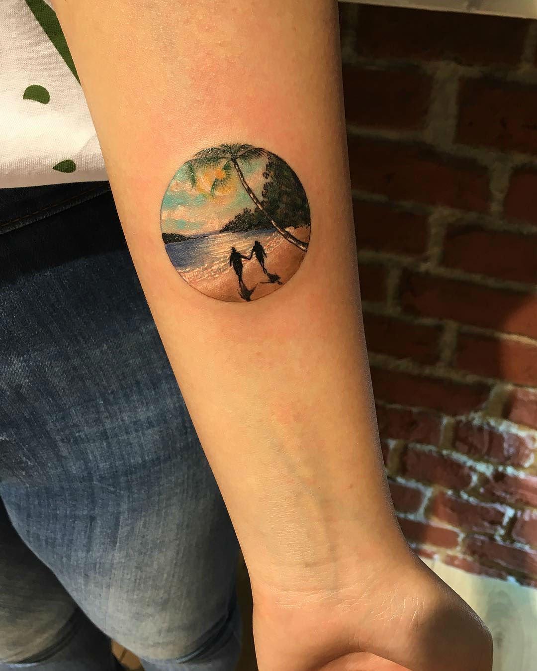 circle tattoos photo - 25