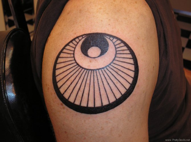 circle tattoos photo - 34