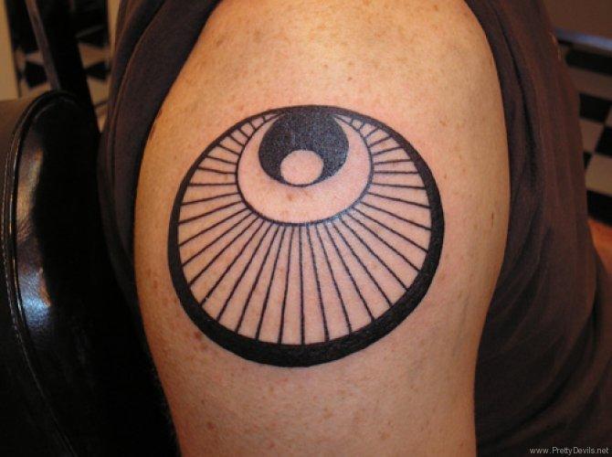 circle tattoos photo - 34