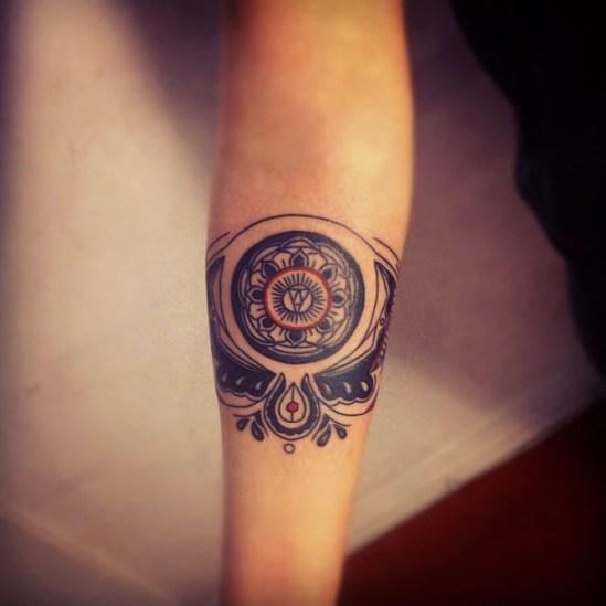 circle tattoos photo - 41