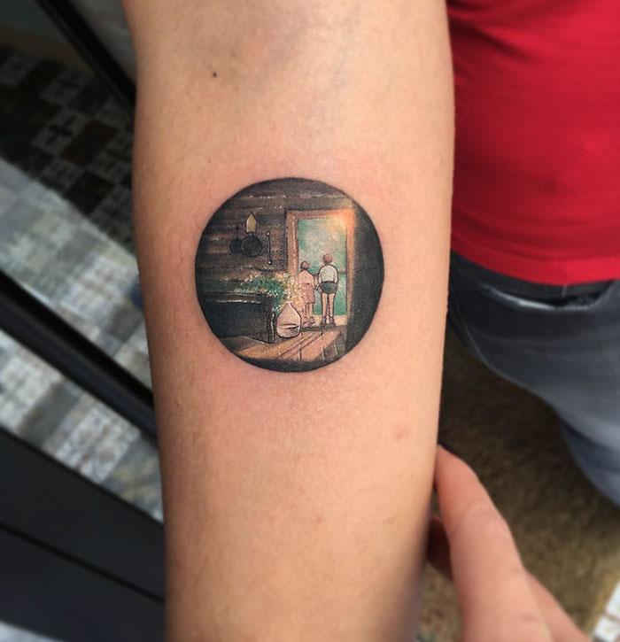 circle tattoos photo - 42